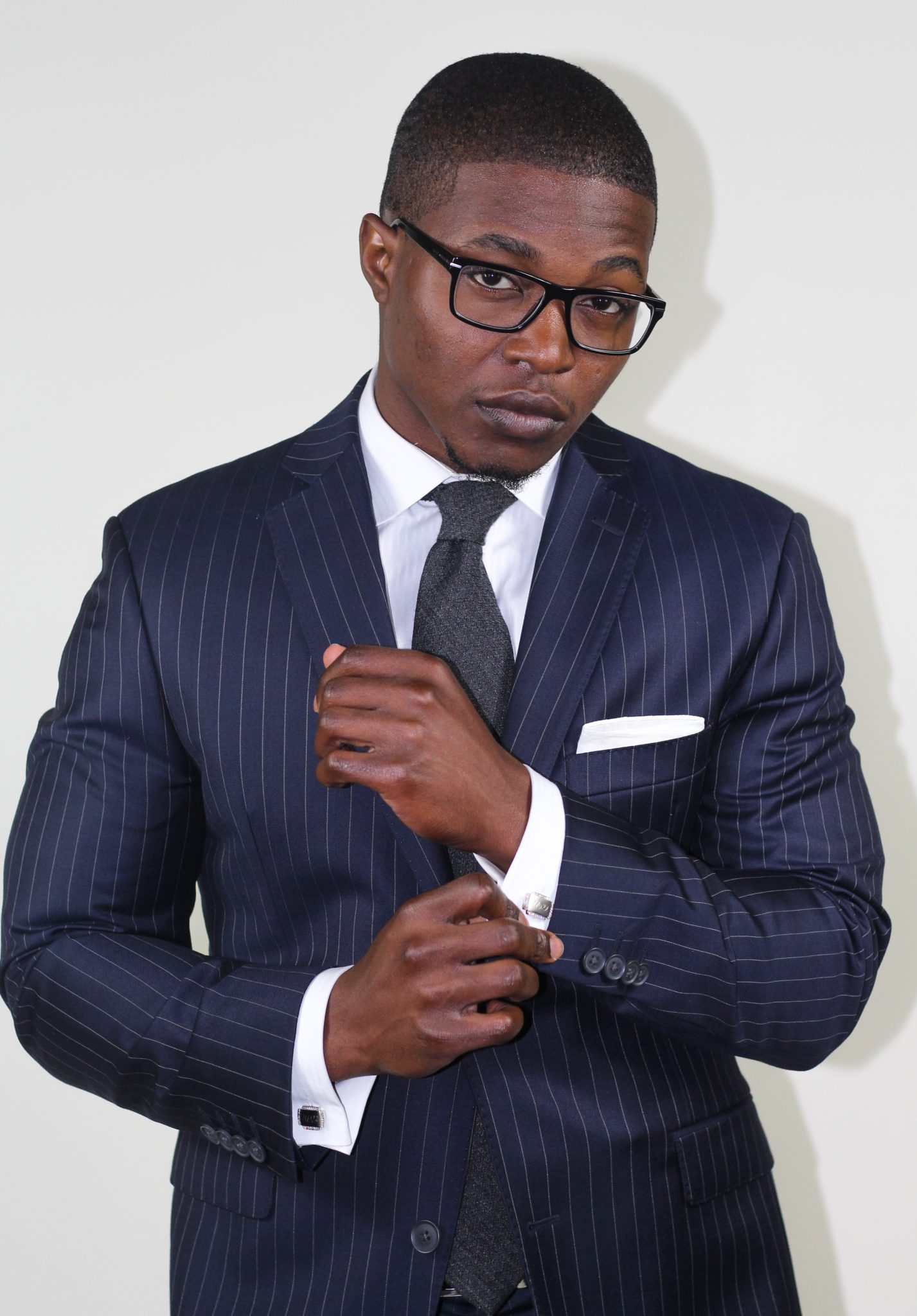 Strictly Business: The Navy Pinstripe Suit | The Dapper Advisor