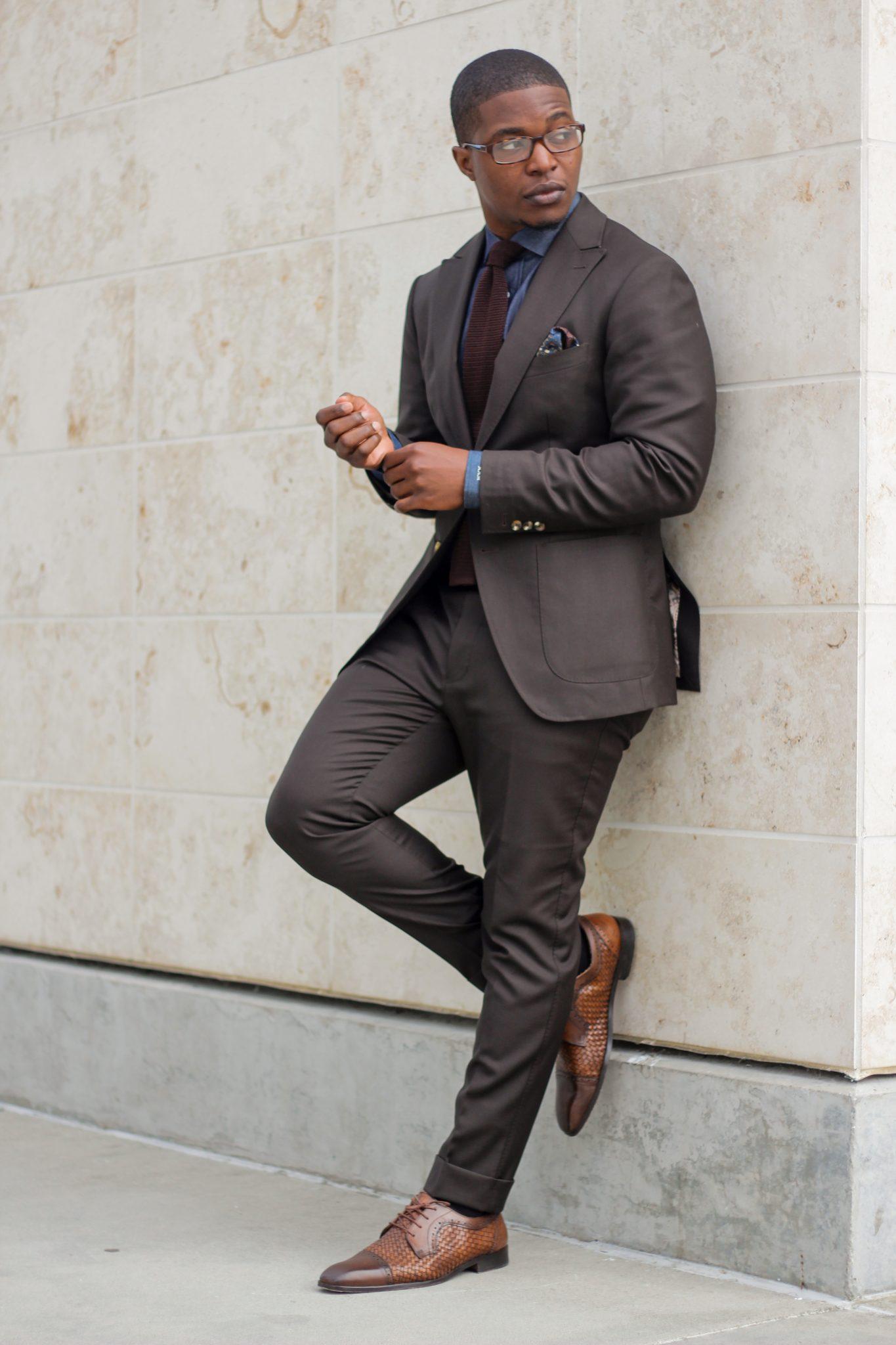 Brown & Blue Suit Combinations - The Dapper Advisor