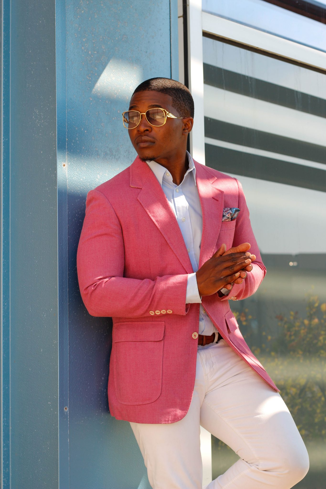 How To Wear Pink Like A Man