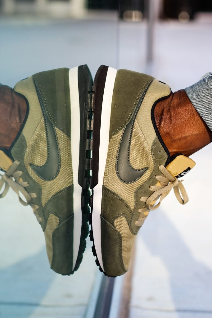 The Dapper Advisor - green nike sneakers