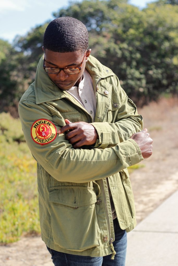 The Dapper Advisor - J. Crew Military Field Jacket Sebago Chelsea Boots