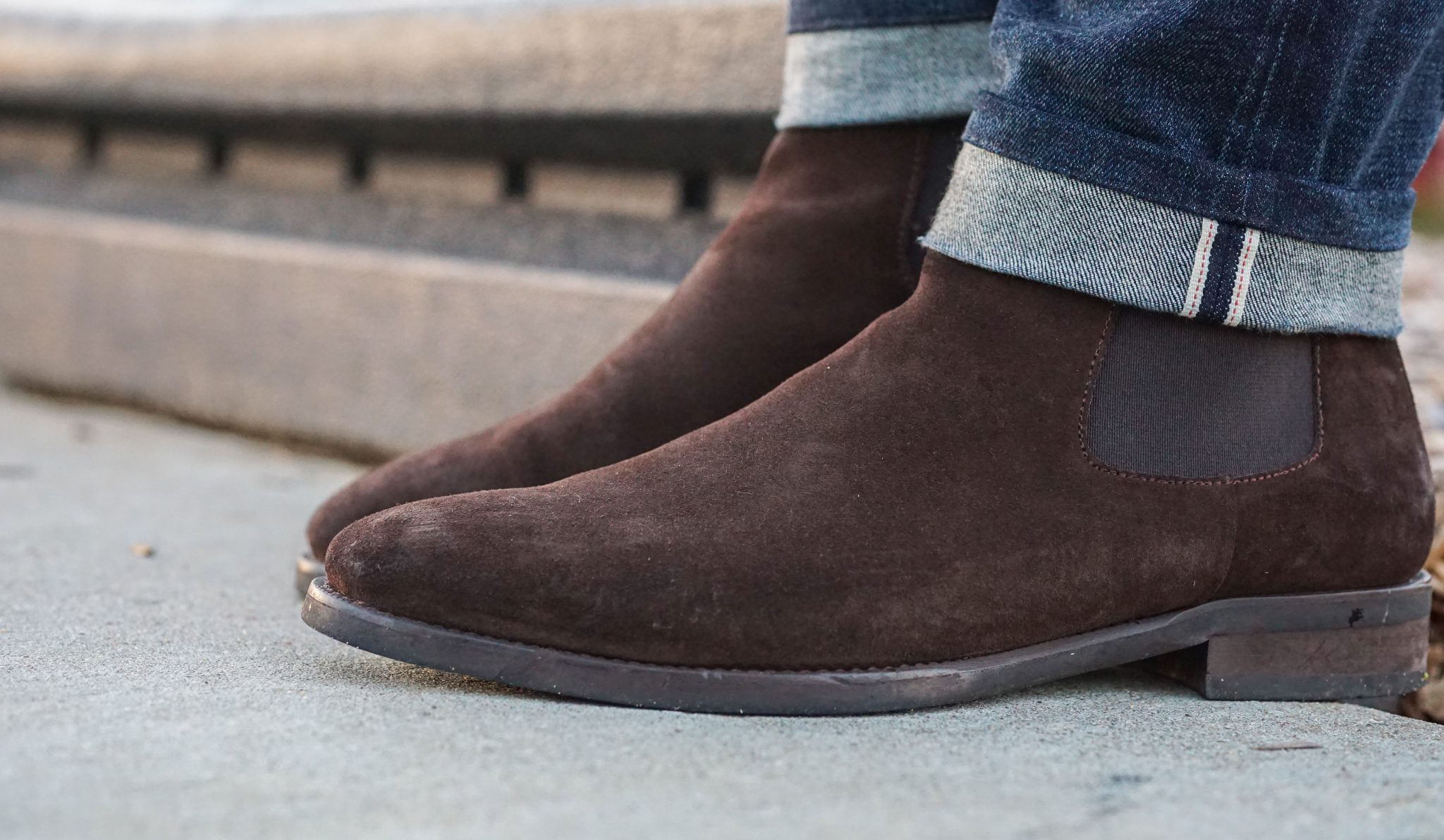 dapper-advisor-suede shoes-brown-suede-chelsea-boots
