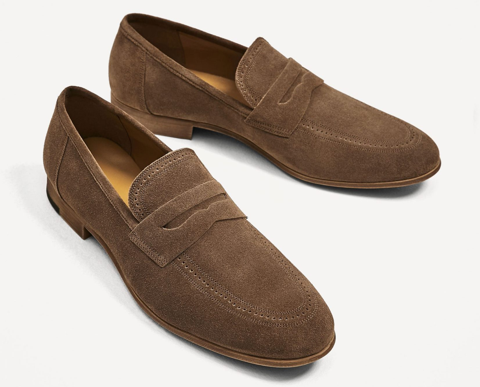 dapper advisor-affordable loafers-spring-summer-brown-suede-penny-loafer