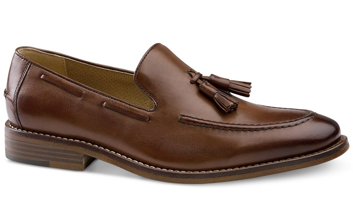 dapper advisor-affordable loafers-spring-summer-brown-leather-tassel-loafer