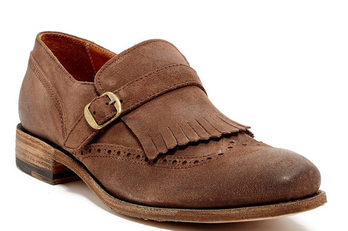dapper advisor-affordable loafers-spring-summer-brown-suede-kiltie-loafer