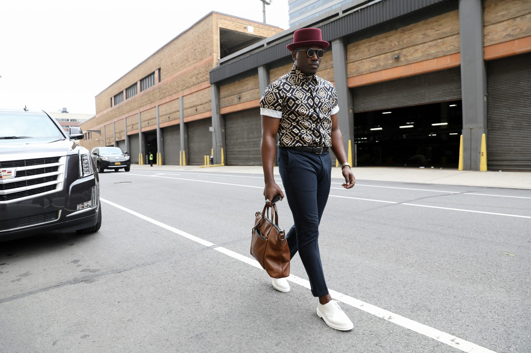The Best Street Style From New York Men 39 S Fashion Week Ss18 The Dapper Advisor