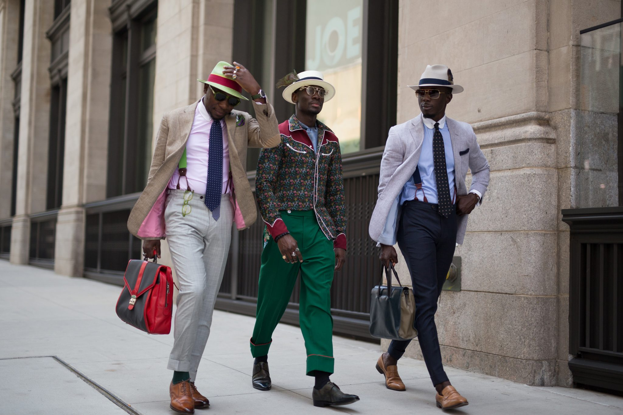 The Best Street Style From New York Men's Fashion Week SS18