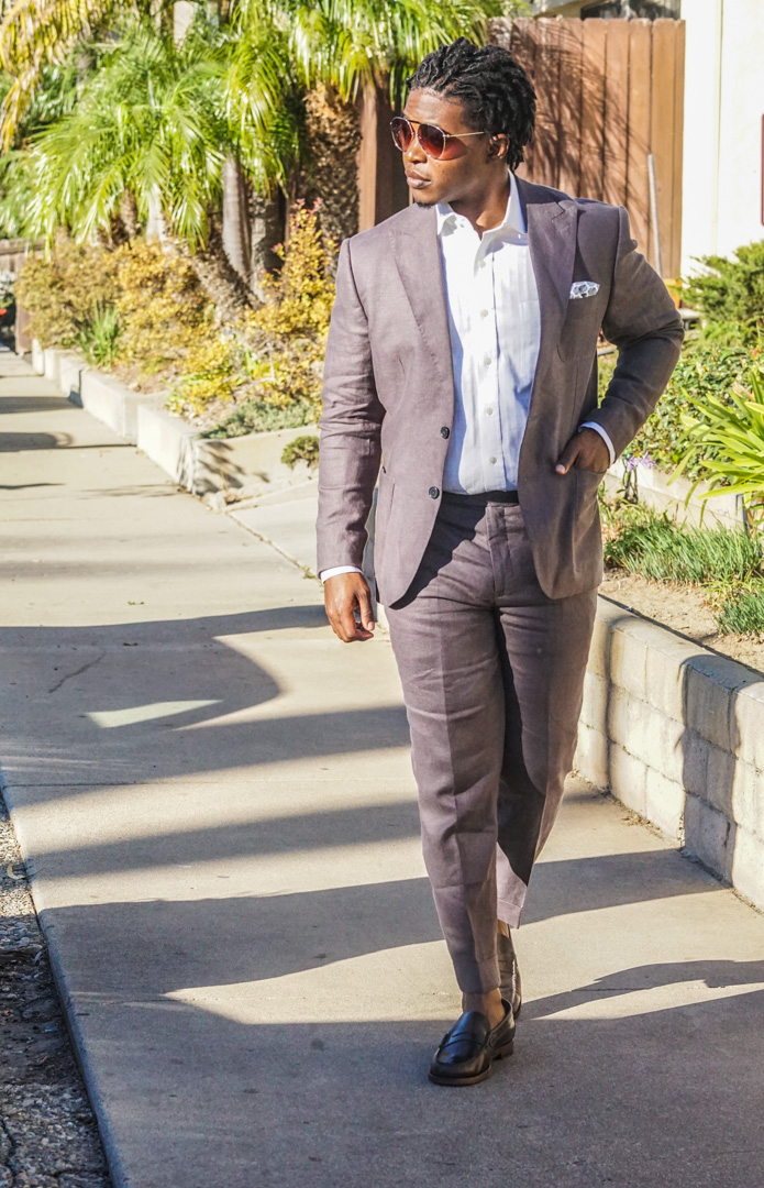 Southern California Living: Linen Suits in October