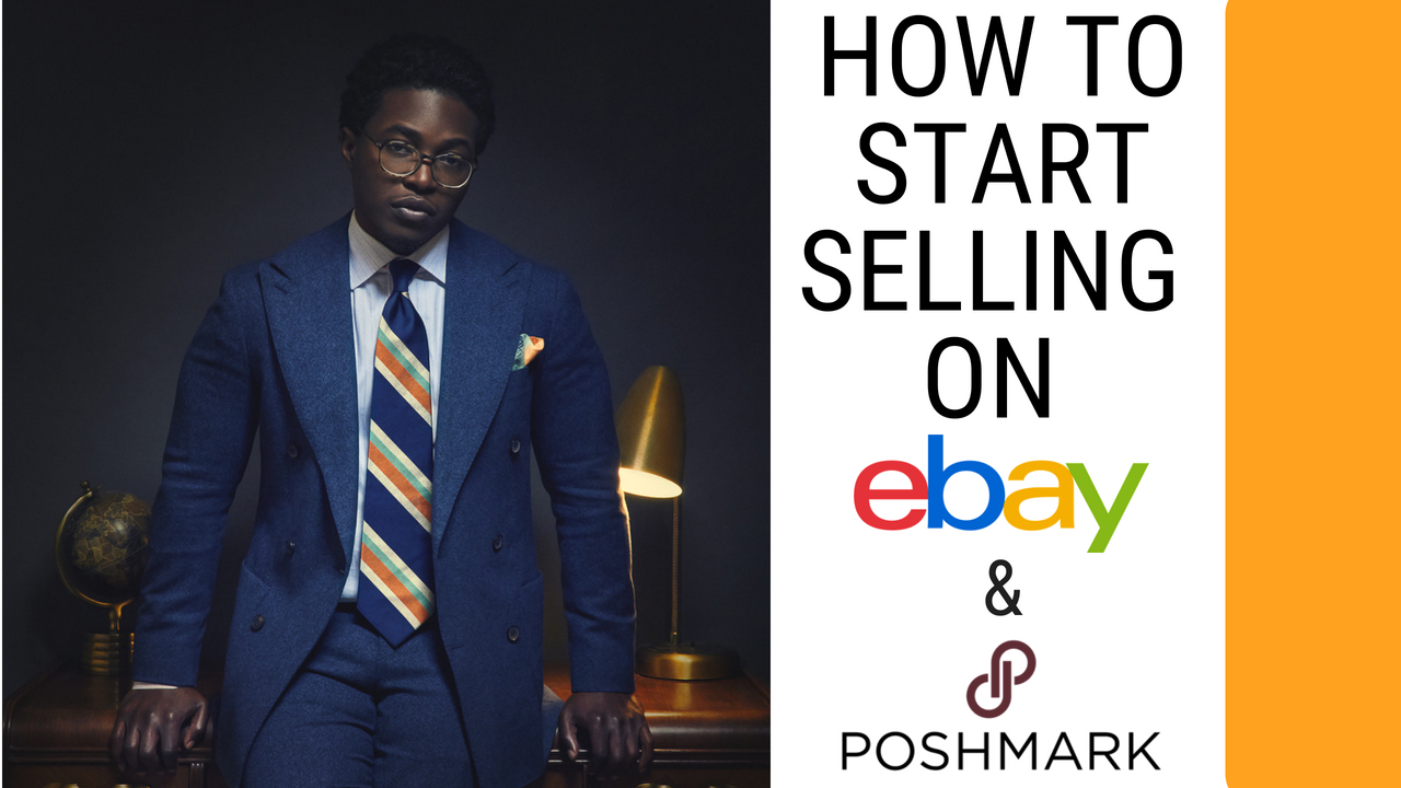 How to Start Selling Clothing On eBay and PoshMark