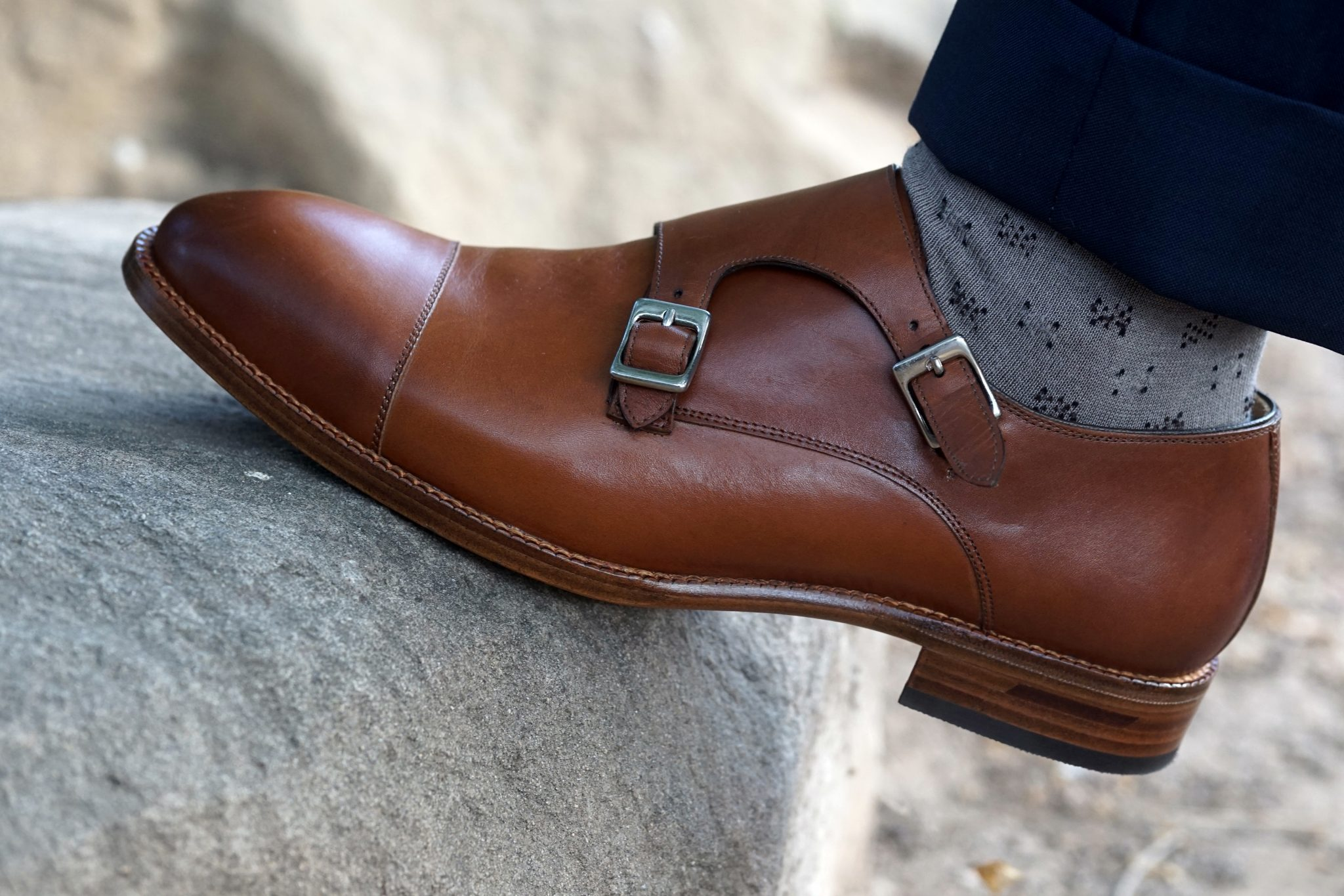 Young Entrepreneur Essentials: Hoyt Monk Strap by Beckett Simonon